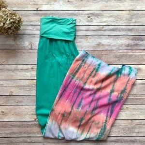 Splendid | Tie Dye Maxi Skirt